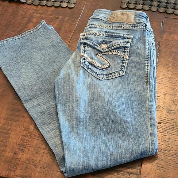 Silver Suki Jeans size 28x31. Excellent!